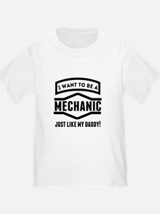Mechanic Just Like My Daddy T-Shirt