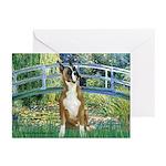 Bridge & Boxer Greeting Cards (Pk of 20)