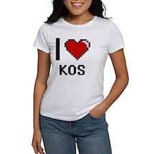 I Love Kos T-Shirt