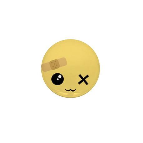 Kawaii Faces Mini Button