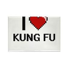 I Love Kung Fu Magnets