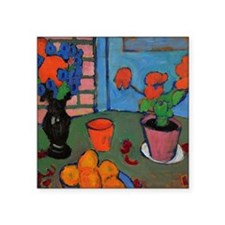 "Jawlensky - Still Life with Square Sticker 3"" x 3"""