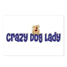 Crazy Dog Lady Postcards (Package of 8)