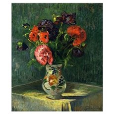 Guillaumin - Still Life with Flowers Poster