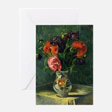 Guillaumin - Still Life with Flowers Greeting Card