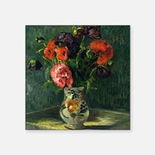 "Guillaumin - Still Life wit Square Sticker 3"" x 3"""