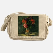 Guillaumin - Still Life with Flowers Messenger Bag