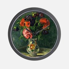 Guillaumin - Still Life with Flowers Wall Clock