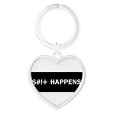 Cute Funny Heart Keychain