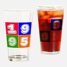 1995 Birthday Designs Drinking Glass