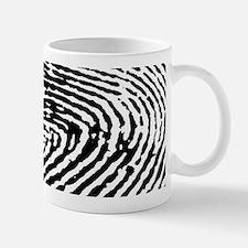 Fingerprints Mugs