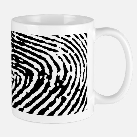 Fingerprints Mugs