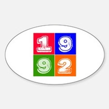 1992 Birthday Designs Decal