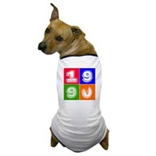 1990 Birthday Designs Dog T-Shirt
