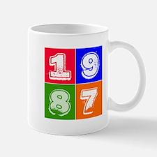 1987 Birthday Designs Mug