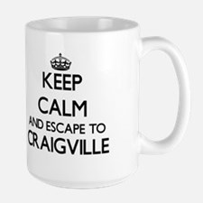 Keep calm and escape to Craigville Massachuse Mugs