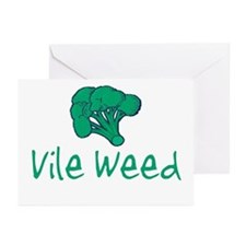 Vile Weed Greeting Cards (Pk of 10)
