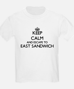 Keep calm and escape to East Sandwich Mass T-Shirt