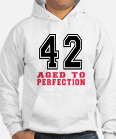42 Aged To Perfection Birthday D Hoodie