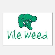 Vile Weed Postcards (Package of 8)