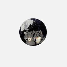 Rocky Mountain Wolves Mini Button