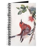 Claudia hafner apapane bird Journals & Spiral Notebooks