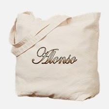 Gold Alonso Tote Bag