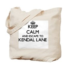 Keep calm and escape to Kendal Lane Massa Tote Bag