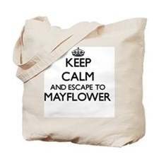 Keep calm and escape to Mayflower Massach Tote Bag