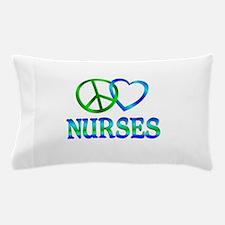 Peace Love Nurses Pillow Case