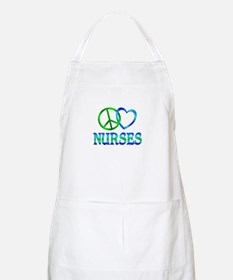 Peace Love Nurses Apron