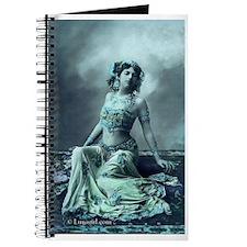 Vintage Bellydance Turquoise Journal