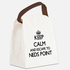 Keep calm and escape to Neds Poin Canvas Lunch Bag