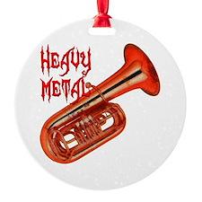 Heavy Metal - Tuba Ornament