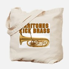 Baritones Kick Brass Tote Bag