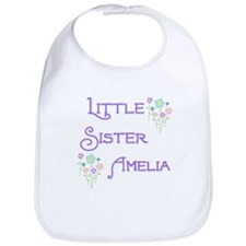 Little Sister Amelia Bib