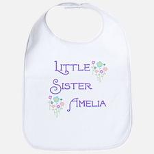Little Sister Amelia Bib