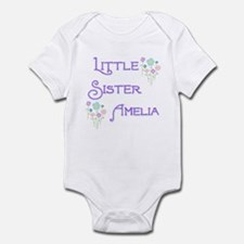 Little Sister Amelia Infant Bodysuit