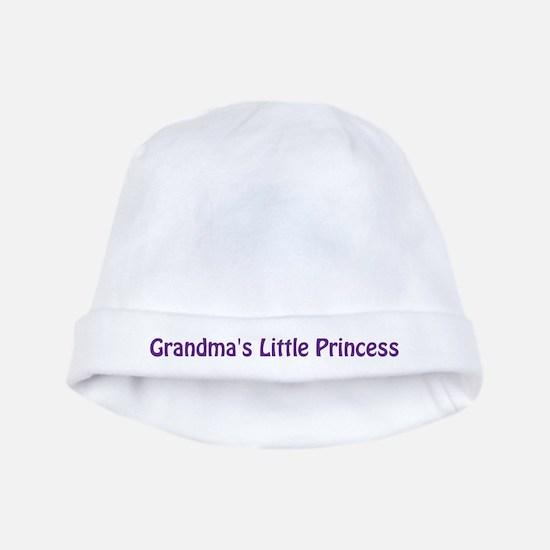 Grandma's Little Princess baby hat