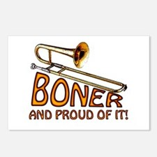 Boner and Proud of It Postcards (Package of 8)