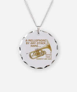 Mellophone By Any Other Name Necklace Circle Charm