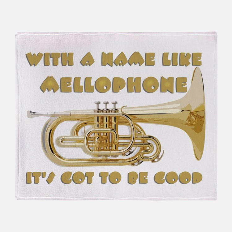 With a Name Like Mellophone... Throw Blanket