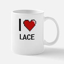 I Love Lace Mugs