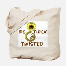 Big,Thick, Twisted Tote Bag