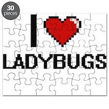 I Love Ladybugs Puzzle