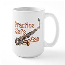 Practice Safe Sax Mug