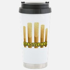 Reeding Is Fundamental Stainless Steel Travel Mug
