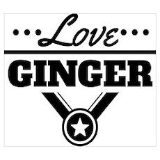 Love Ginger Poster
