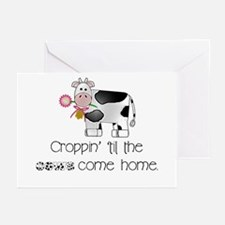 Croppin' Cows Greeting Cards (Pk of 10)