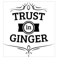 Trust in Ginger Poster